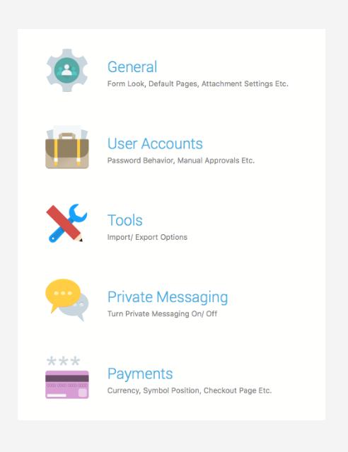 WordPress user's membership management