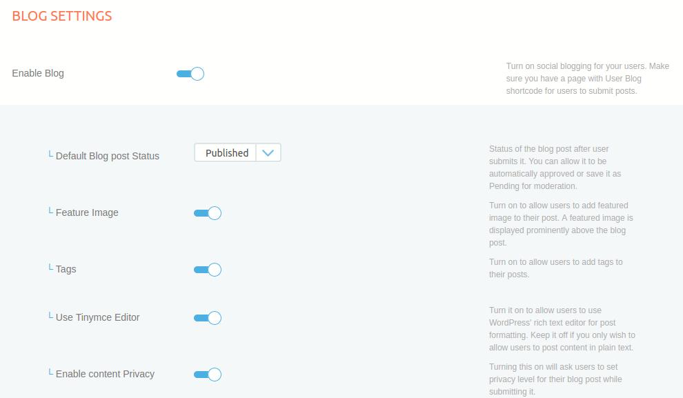 User Blogs - ProfileGrid