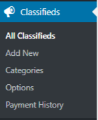 WPAdverts Classifieds Plugin User Profiles form