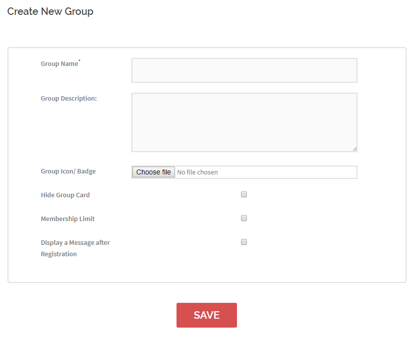 Allow WordPress Users to Create New Groups new group