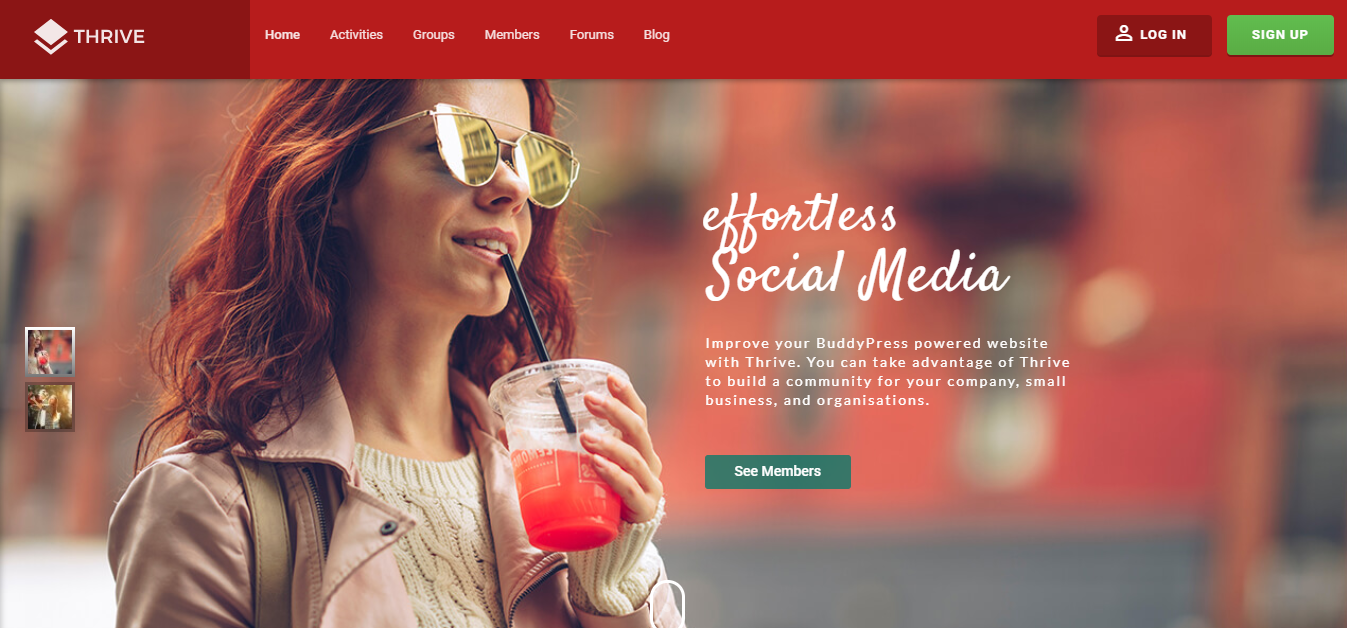 Best WordPress themes for Membership Sites thrive