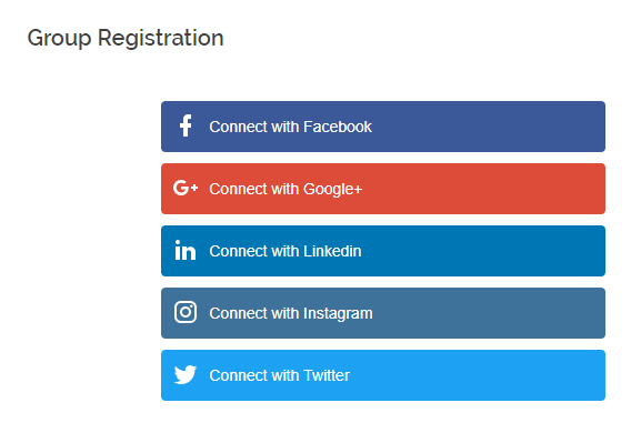 WordPress Users to Login with Social Accounts frontend