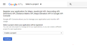 Show Map Locations google API