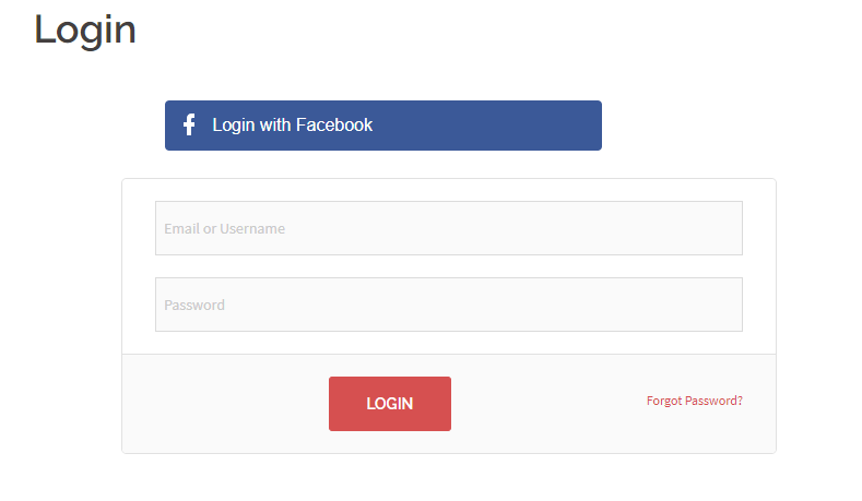 WordPress Users to Login with Social Accounts facebook login