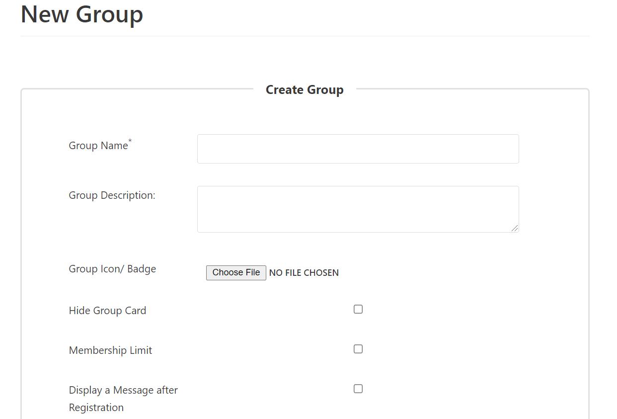 WordPress groups