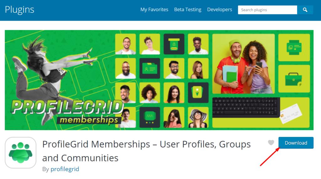 ProfileGrid Memberships