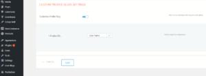 User Profile Custom Slug Extension