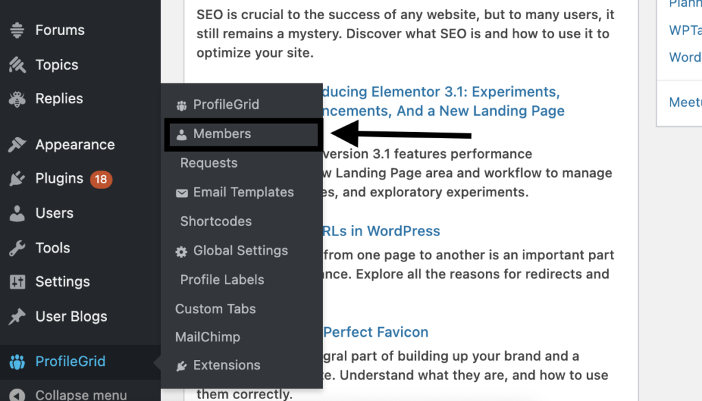 Adding labels to profile Part 1