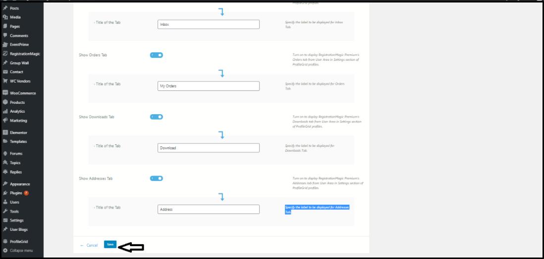 WordPress Registration Forms