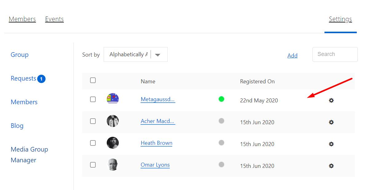 WordPress User Groups
