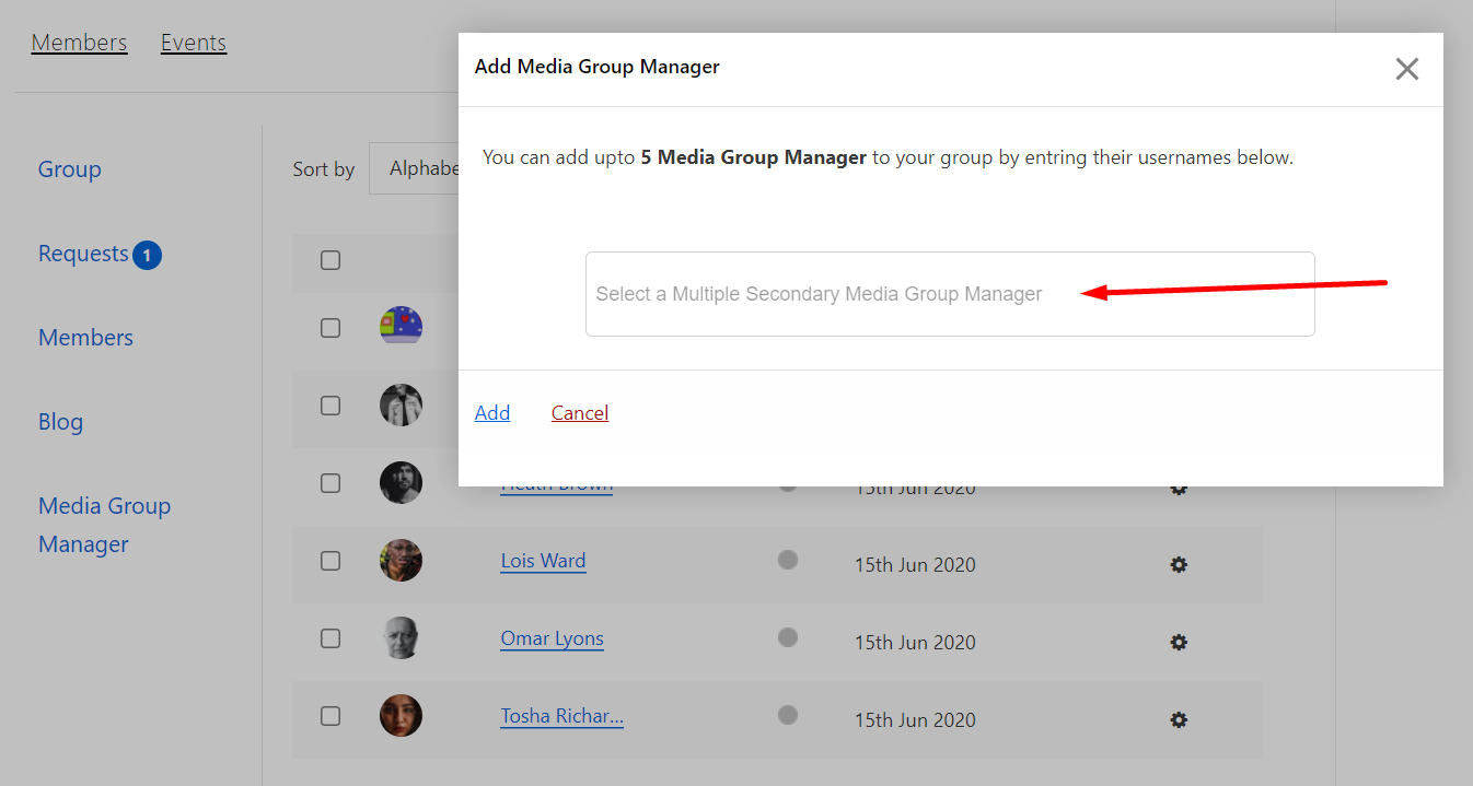 group managers
