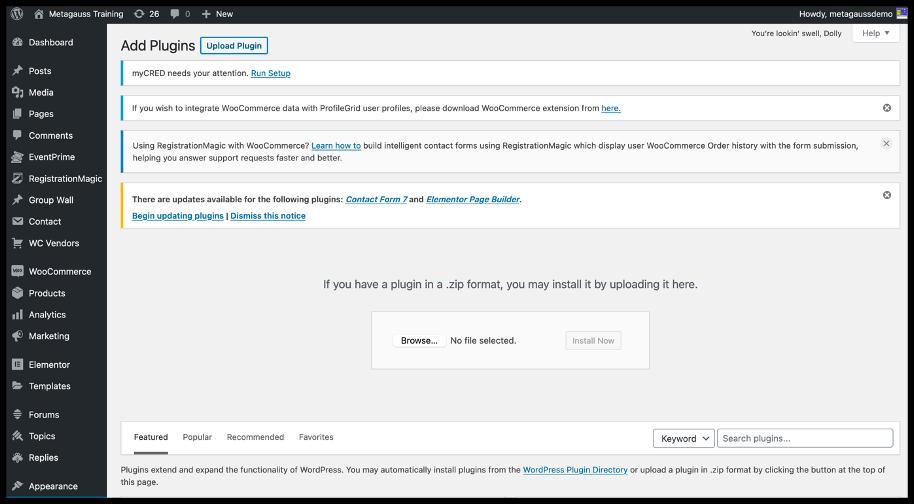 WordPress bbPress plugin