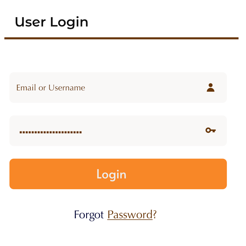 Login Form Widget