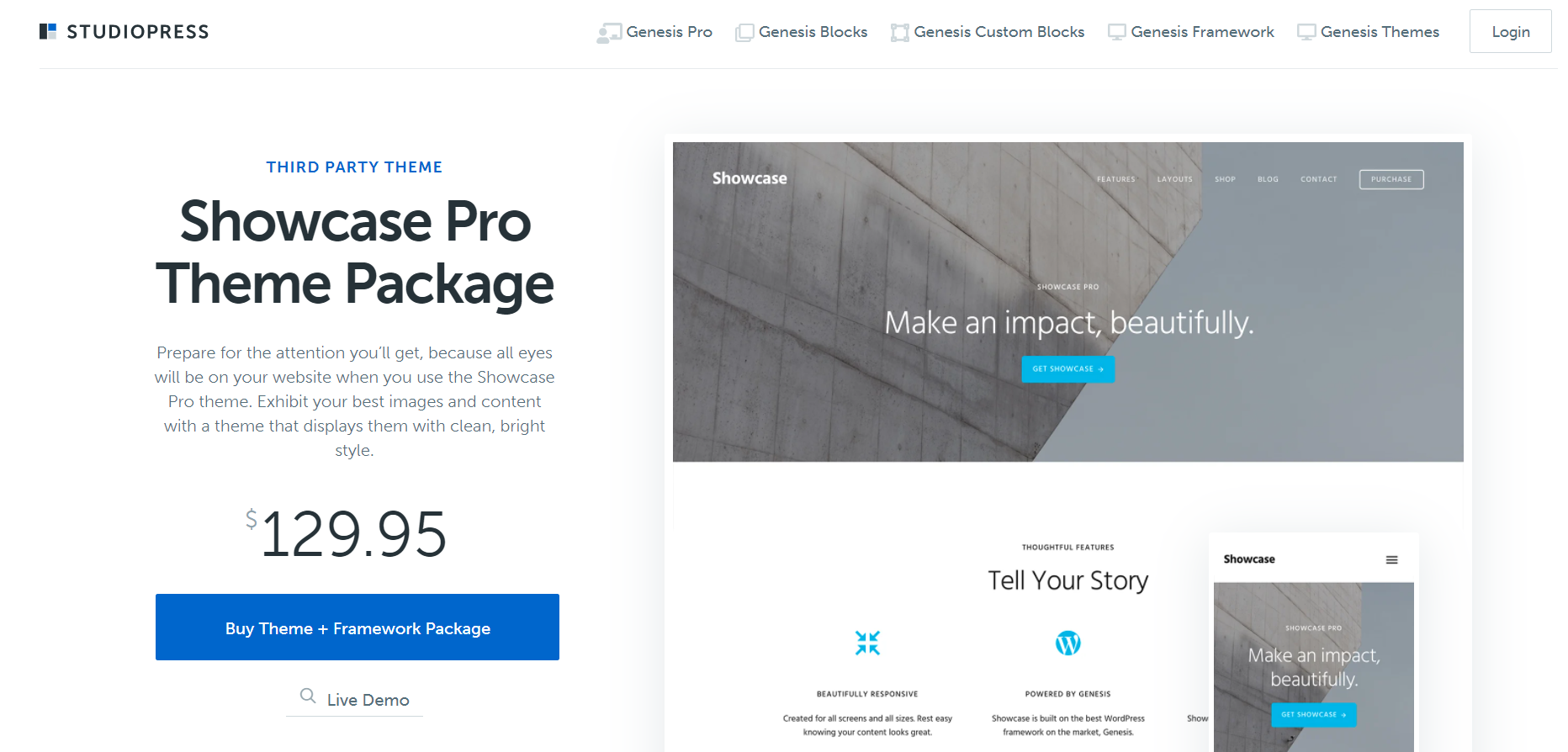 best theme in the world - Show Pro by StudioPress