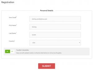 MailChimp Registration Opt-in